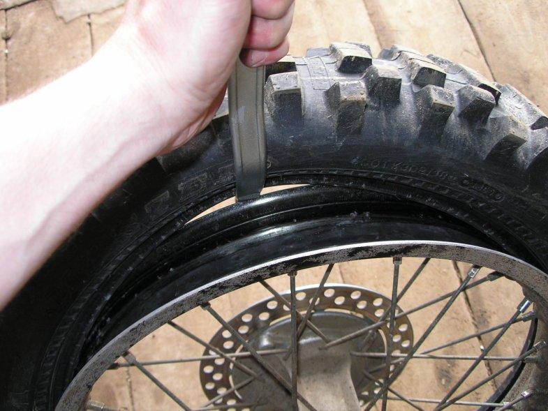 Бортировка колес своими руками фото